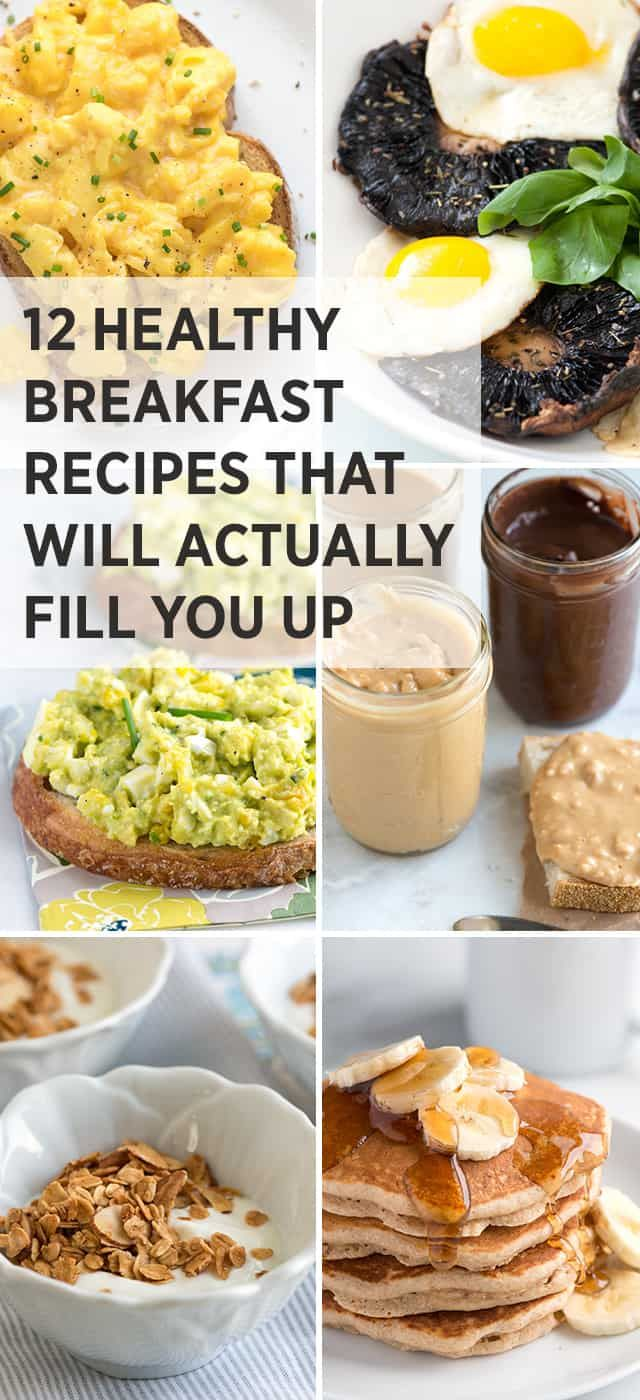12 Healthy Easy Breakfast Recipes That Fill You Up images