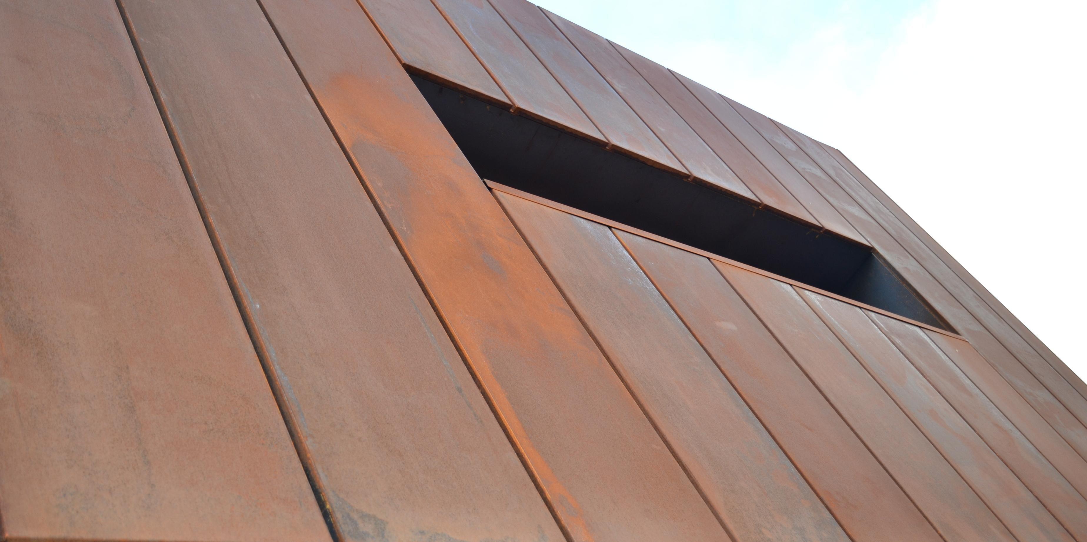 Cassette Panel Copper Wall Cladding Designs Zinc Cladding Copper Design