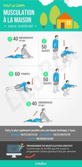 Séance de musculation à la maison quand il pleut - #body #ejercicios #exercise #fitness #fitnessmoti...