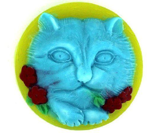 Allforhome Silicone Kat Kitty Handmade Soap Chocolate DIY Making Molds Craft Moulds Allforhome http://www.amazon.ca/dp/B00ISHHREO/ref=cm_sw_r_pi_dp_hp2evb1GWYRZ8