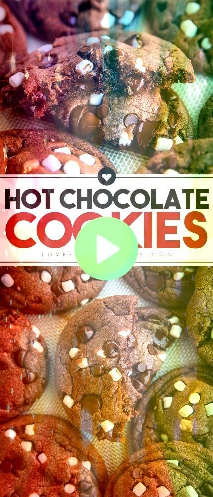 Chocolate Cookies Made From Hot Cocoa Mix  Baking Recipes To Try Hot Chocolate Cookies Made From Hot Cocoa Mix  Baking Recipes To Try The BEST soft and chewy Snickerdoodl...