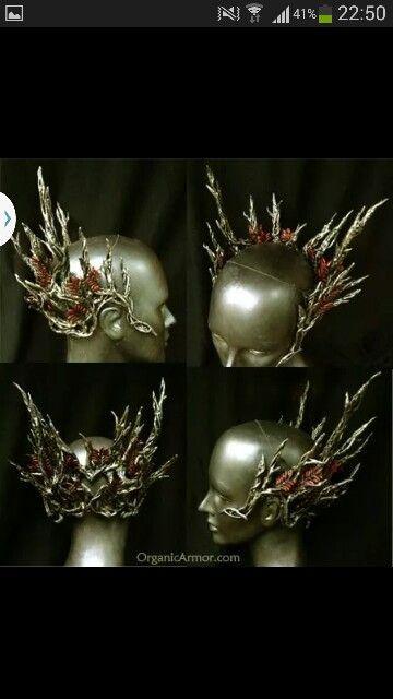 Tranduil crown by Organic Armour