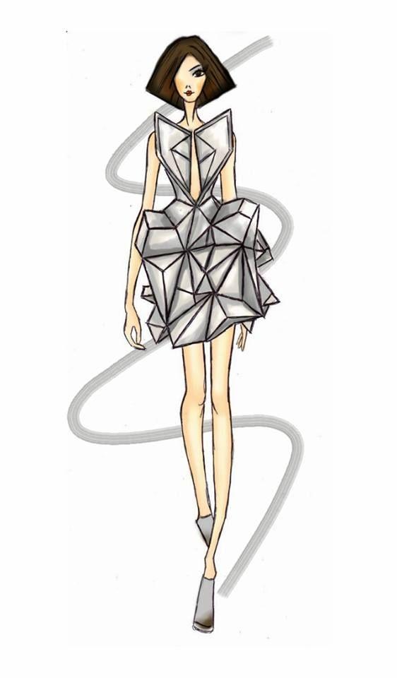 my fashion sketch