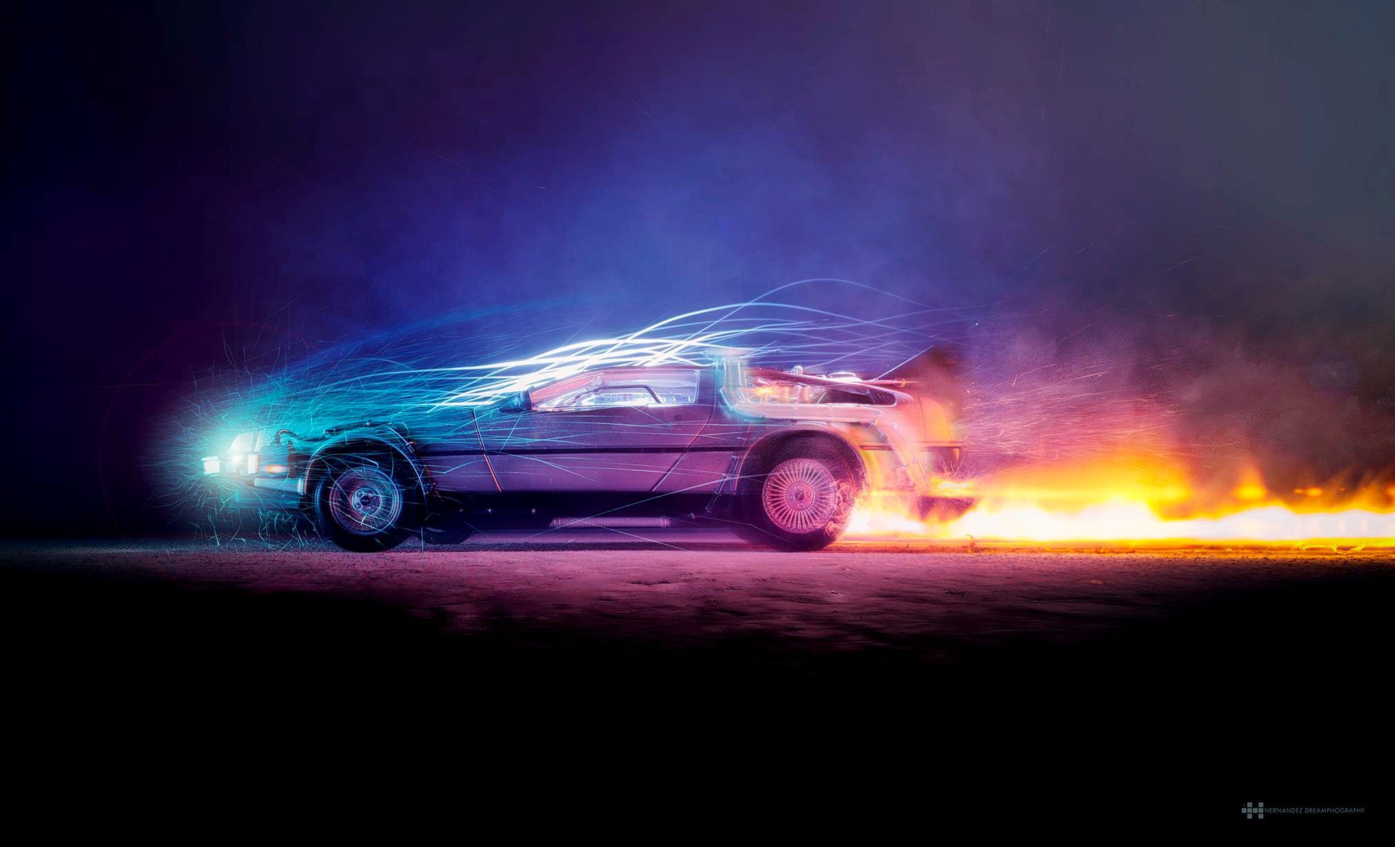 Delorean Wallpapers Album On Imgur With Images Future
