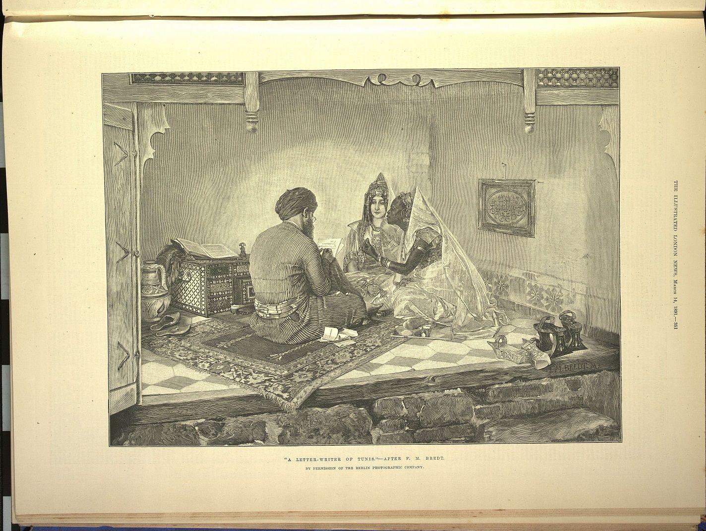 The Illustrated London News. London: Illustrated London News & Sketch Ltd., 1842- p.351 de 1891