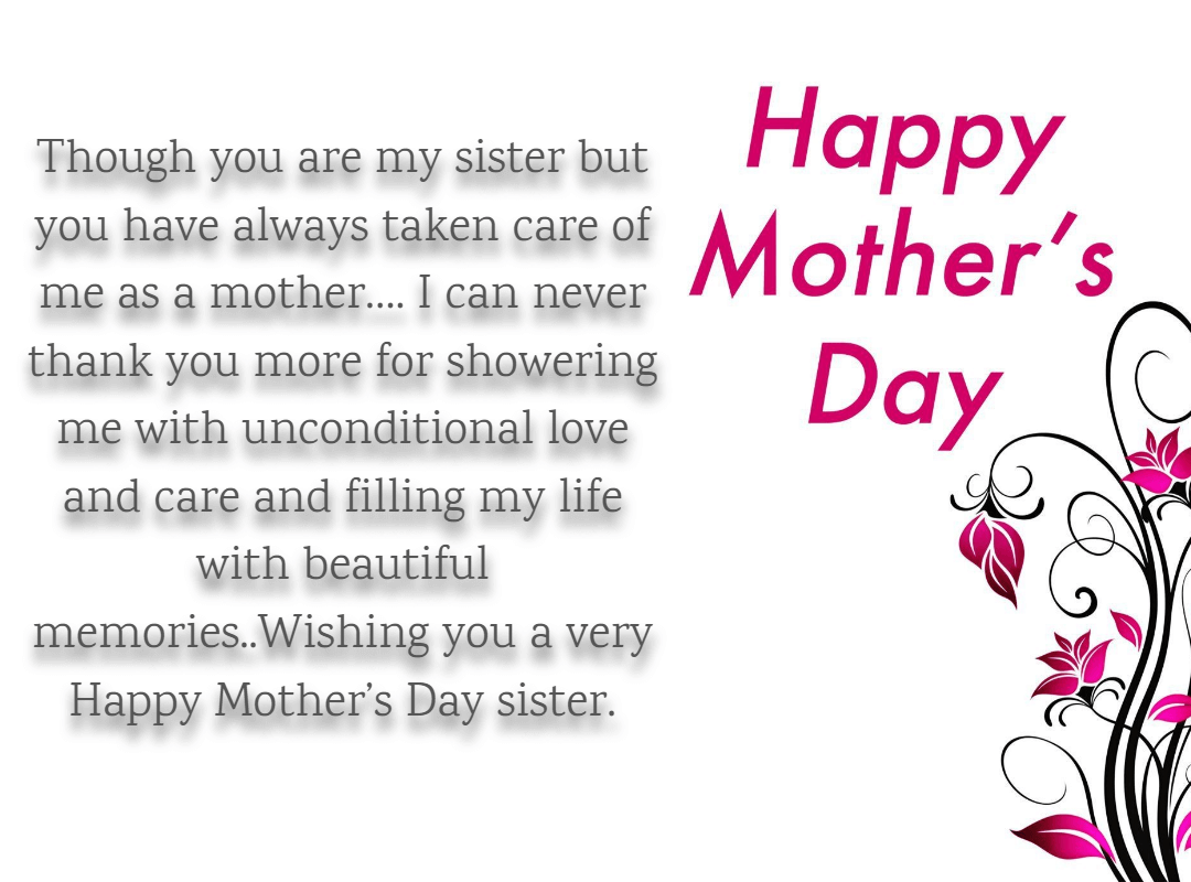 25 Mother S Day Quotes And Wishes For Sister 2019 Iphone2lovely Sister Quotes Mother Day Message Happy Mothers Day Sister