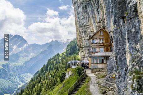 The Aescher Hotel In Appenzell Switzerland Voyages