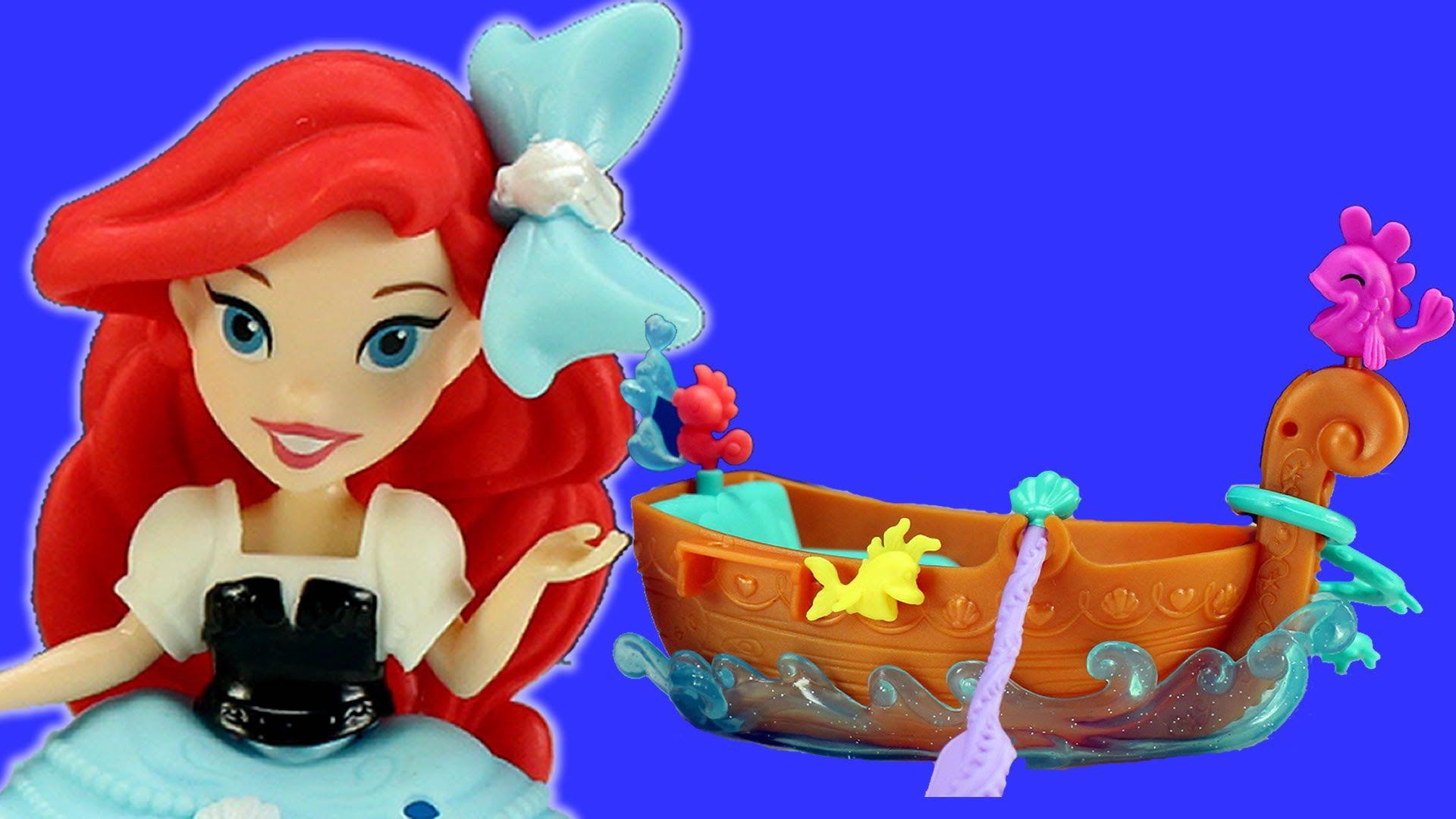 Disney Princess Ariel The Little Mermaid Boat Toy Disney