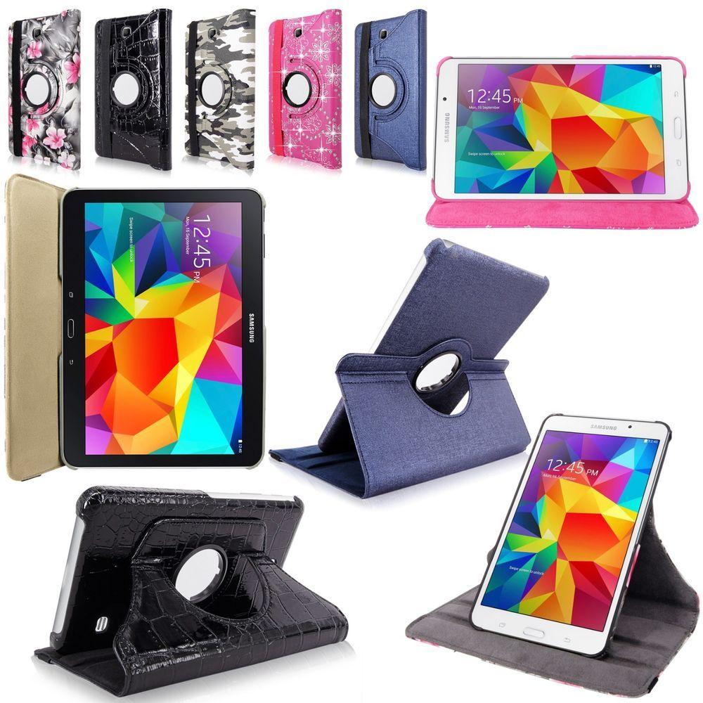 For Samsung Galaxy Tab 360 Degree Rotating PU Leather Flip