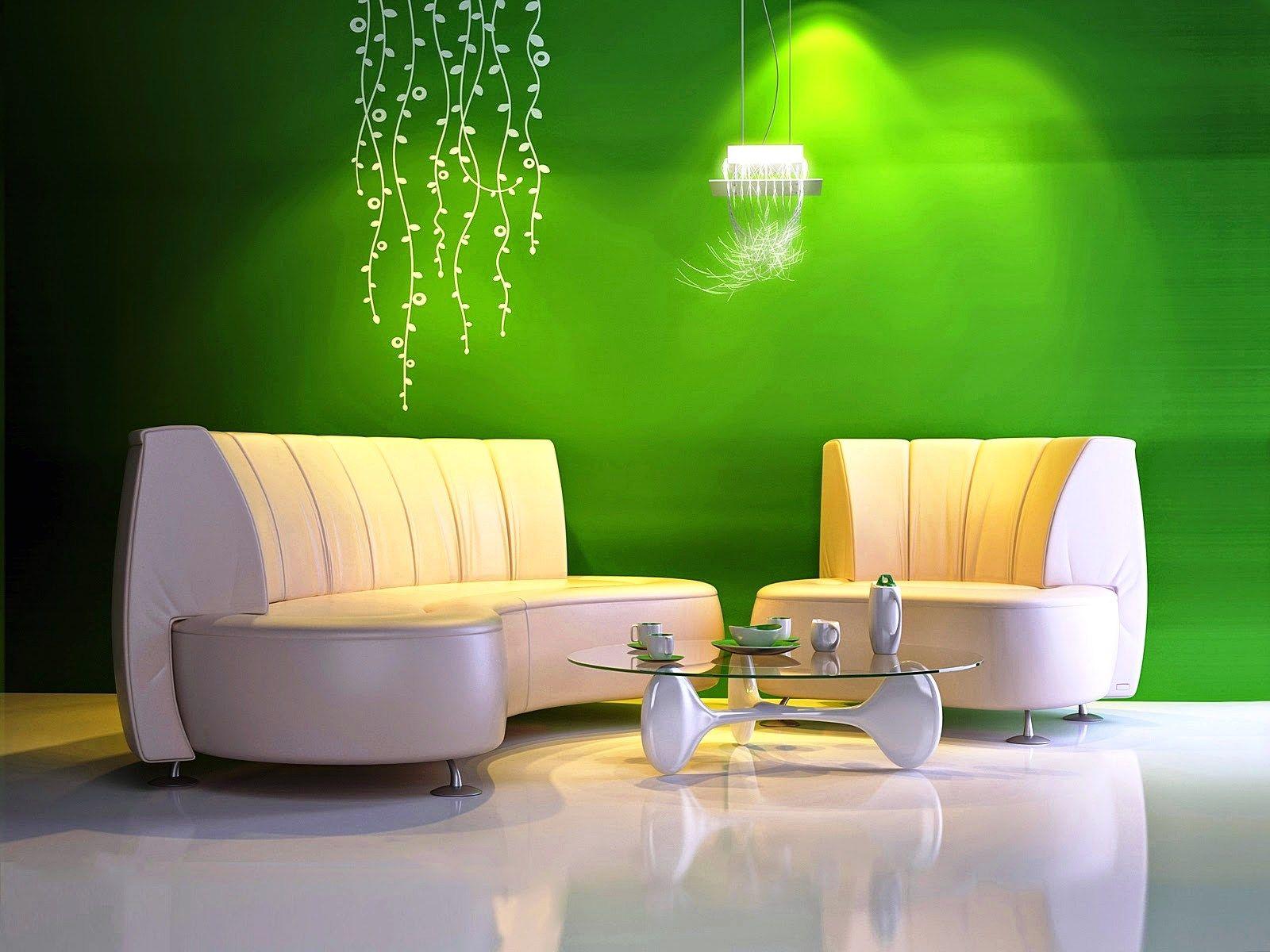 Warna Cat Ruang Tamu Kecil Hijau Ruang Tamu Minimalis Pinterest
