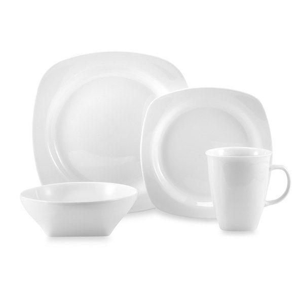 White porcelain look - everyday dinnerware
