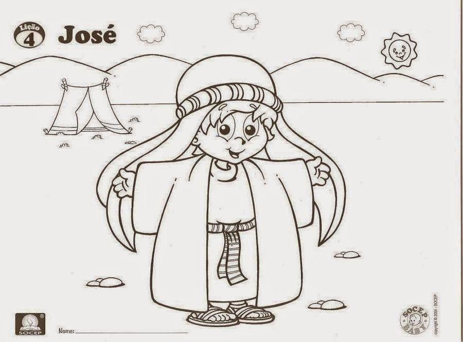 CANTINHO DAS HISTÓRIAS BÍBLICAS: HISTÓRIA BÍBLICA INFANTIL JOSÉ E O ...