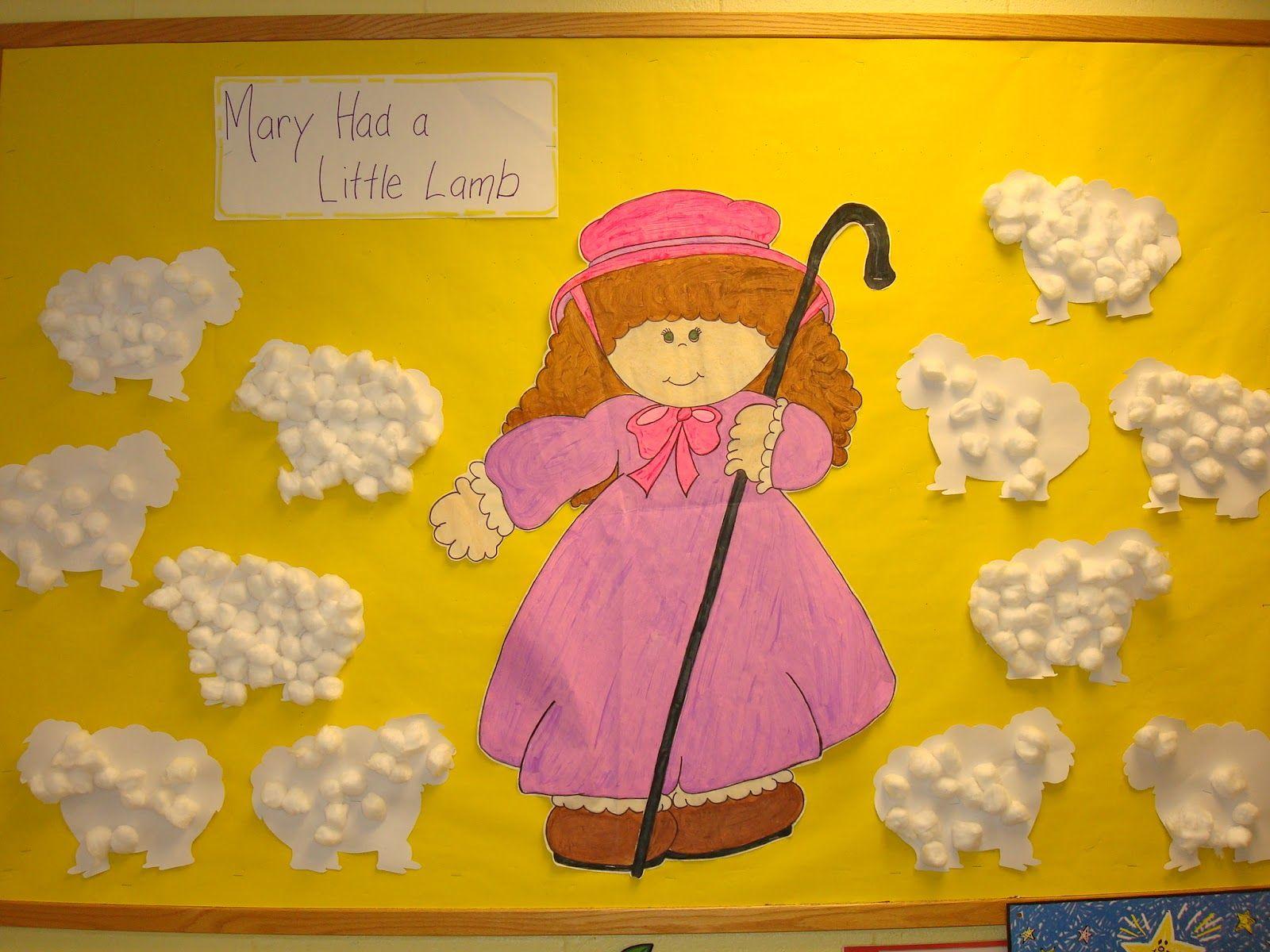 Trinity Preschool Mp Nursery Rhymes Art And Bulletin