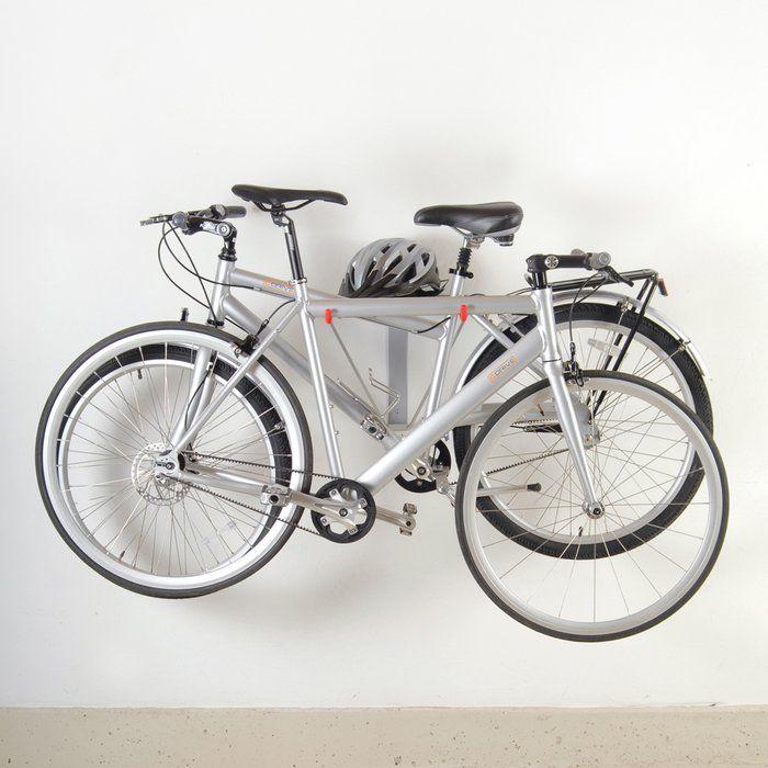 You Ll Love The Art Of Storage 2 Bike Wall Mounted Bike Rack At Wayfair Great Deals On All Storage Amp Amp O Bike Wall Mount Wall Mount Bike Rack Bike Rack