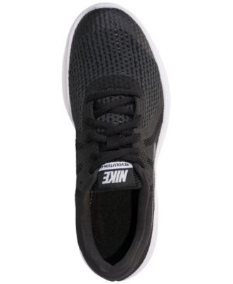 0bb8c00a0083 Nike Girls  Revolution 4 Shield Athletic Sneakers from Finish Line - Black 7