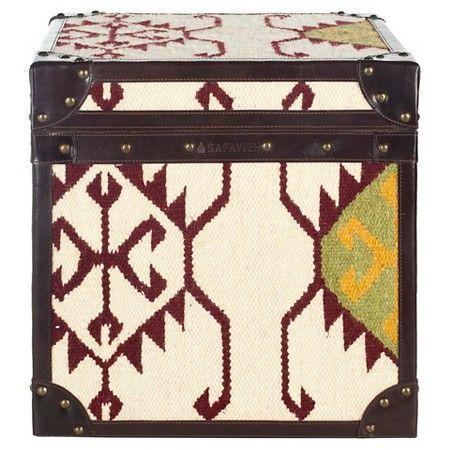 Modern Nomad End Table Brown - Safavieh : Target