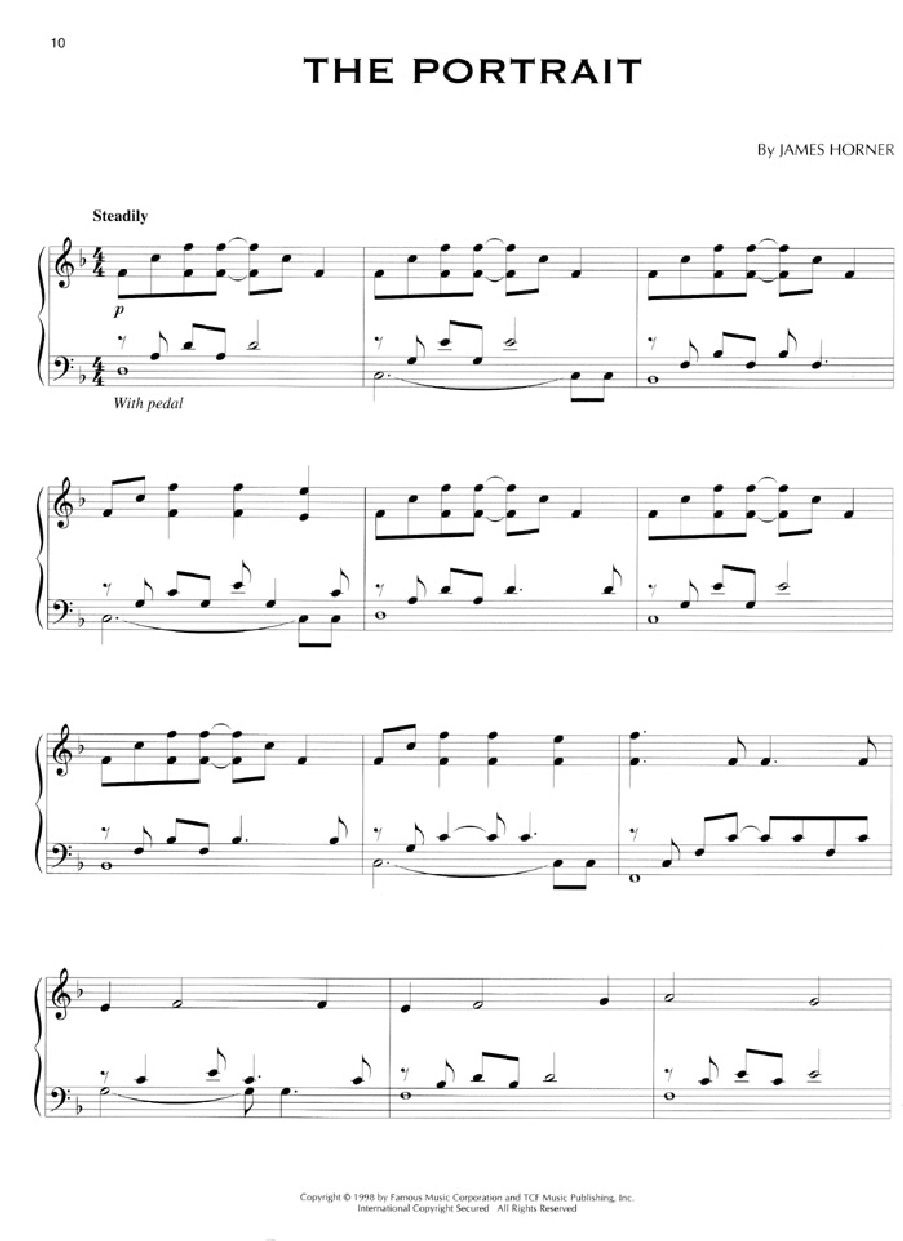 Titanic Piano Sheet Music Easy