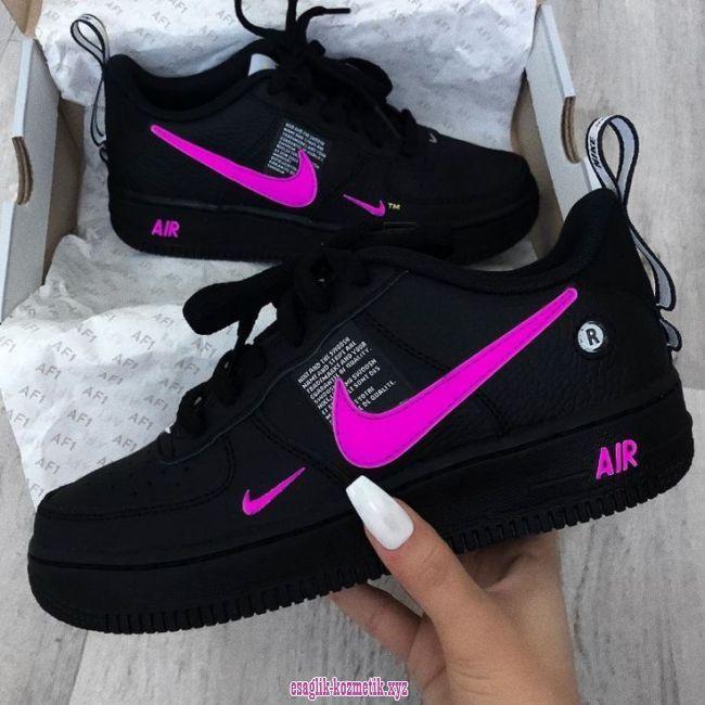 air max 1 rosa schwarz