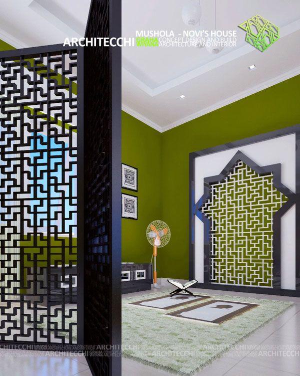 Arsitek DesainInterior InteriorMinimalis RuangIbadah InteriorMusholla Architecchi