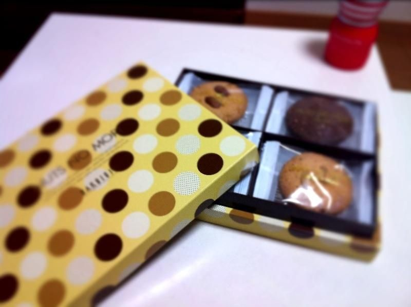 「白十字」のクッキー