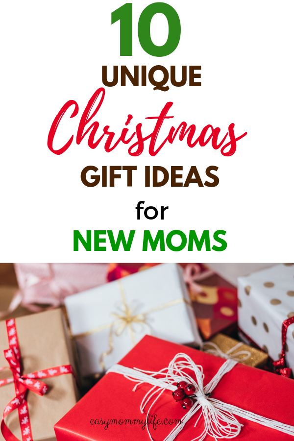 Here are 10 unique Christmas gift ideas for new moms, and moms that are  sure to impress!. #christmasgiftguide #christmasgiftideas #giftsforher  #newmom # ... - 10 Unique Gift Ideas For New Moms Gift Guides Pinterest Gifts