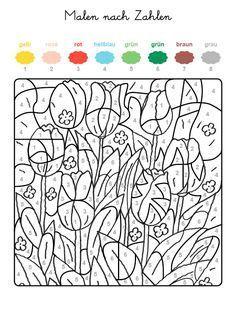 Malen Nach Zahlen Tulpen 600 800 Pixel Malen Nach Zahlen Malen Nach Zahlen Kinder Malen Nach Zahlen Vorlagen