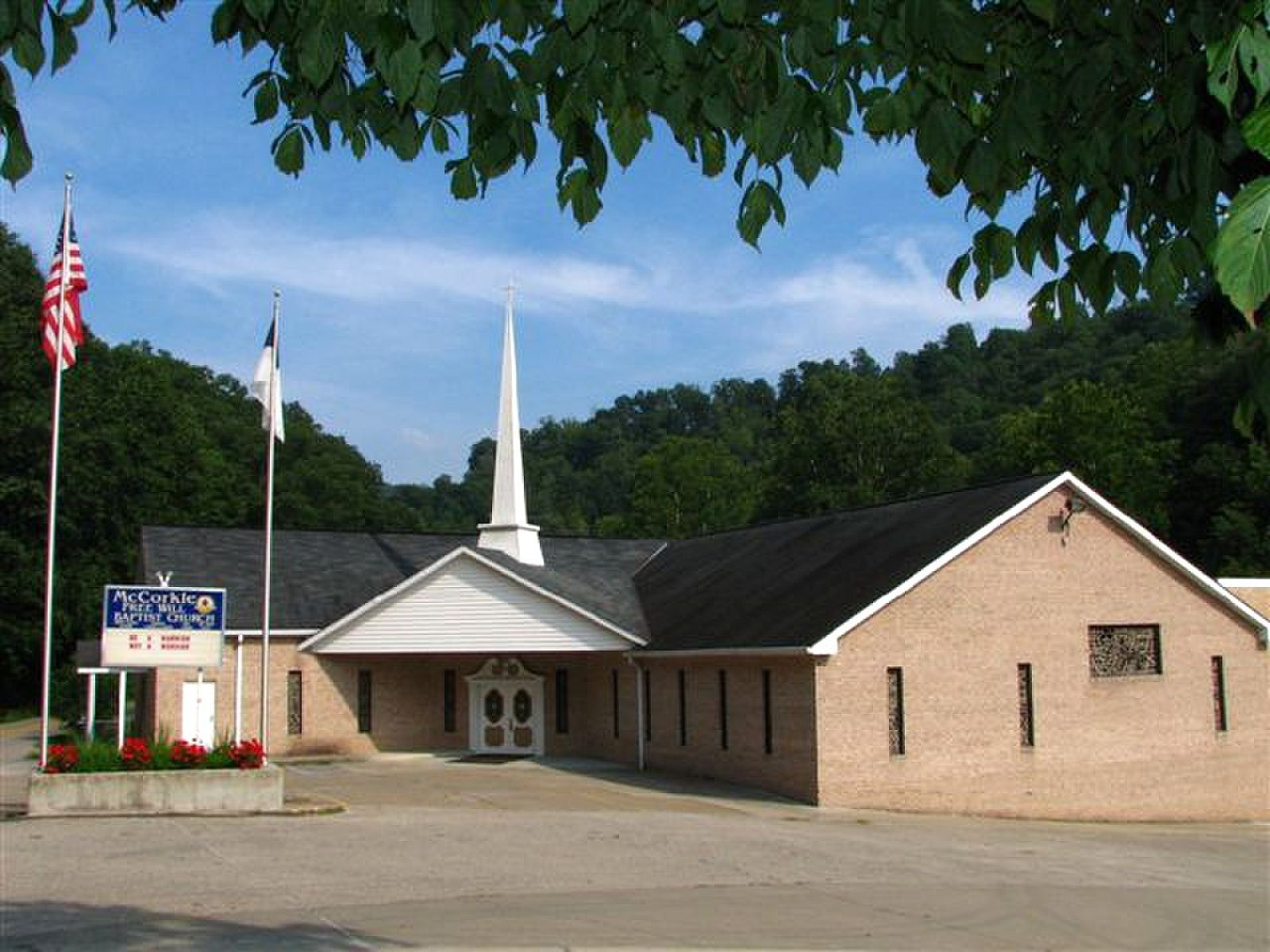 McCorkle Freewill Baptist Church  This is the church of my childhood.  God still moves in this place.