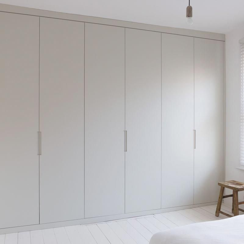 Floor To Ceiling Fitted Wardrobe #BedroomDecorIdeas