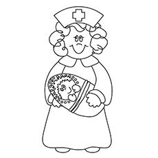 Top 25 Nurse Coloring Pages For Your Little Ones Christmas