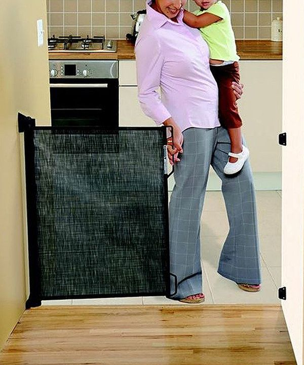 Loving This DreamBaby Black Retractable Gate On #zulily