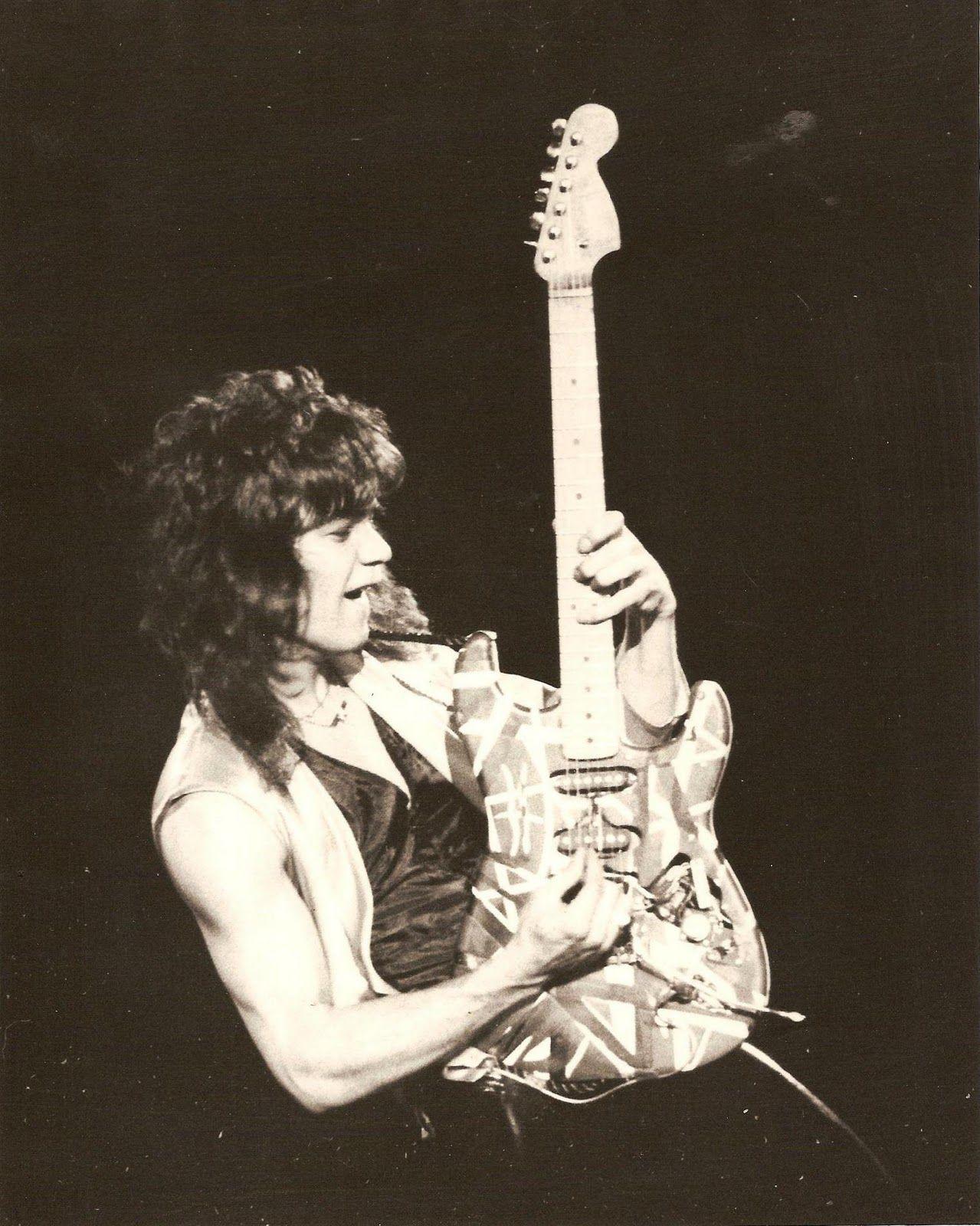Vertical Pose Eddie Van Halen Van Halen Halen