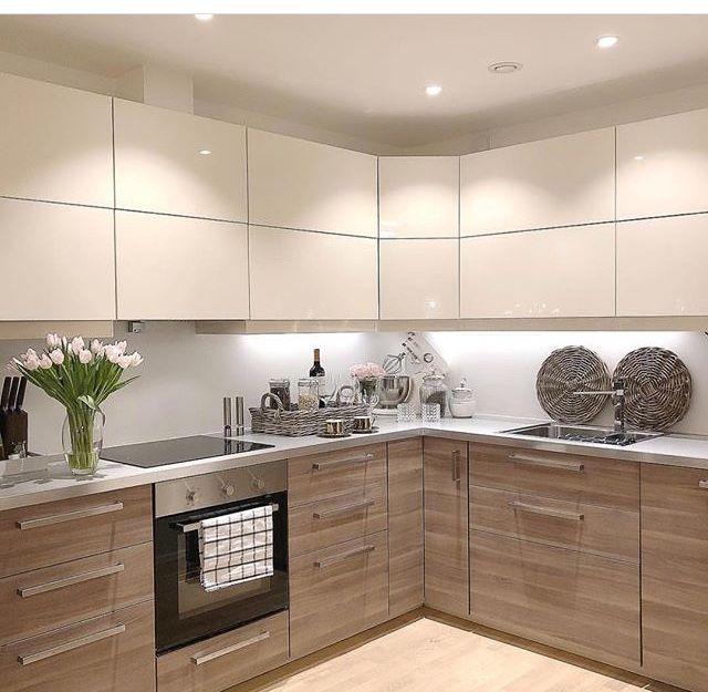 Cocinas pa 39 casa en 2019 kitchen kitchen design y kitchen decor - Cocinas modernas madera ...