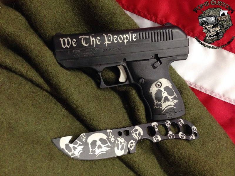 Cool dedign, but not sure who would want a Hi Point  Lol  Hi