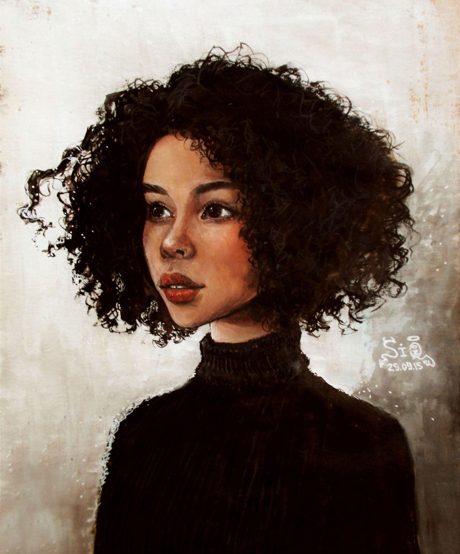 Fyblackwomenart Black Beauty By Fuytski Black Women Art Black