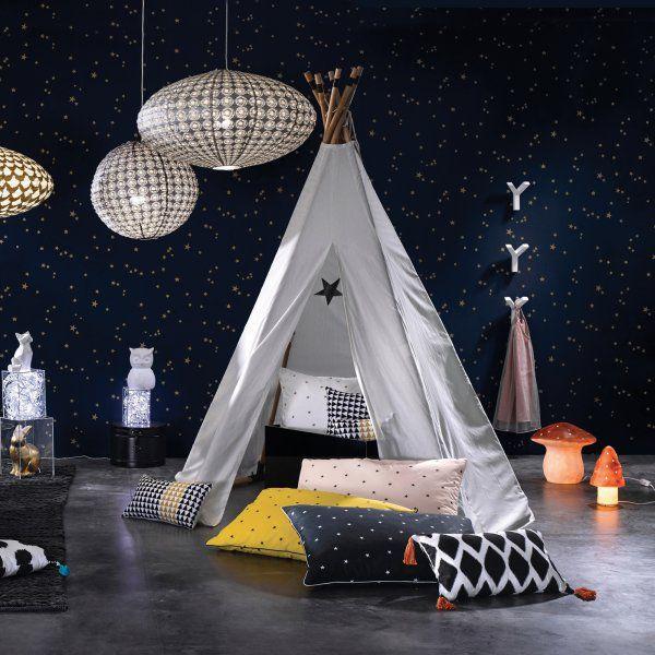 Chambre enfant : le tipi, la nouvelle cabane à adopter ! D'autres jouets pour bebe => http://amzn.to/2nK8lcv