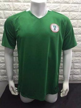 Nigeria National Team Home 2017 Green Soccer Jersey [I587]