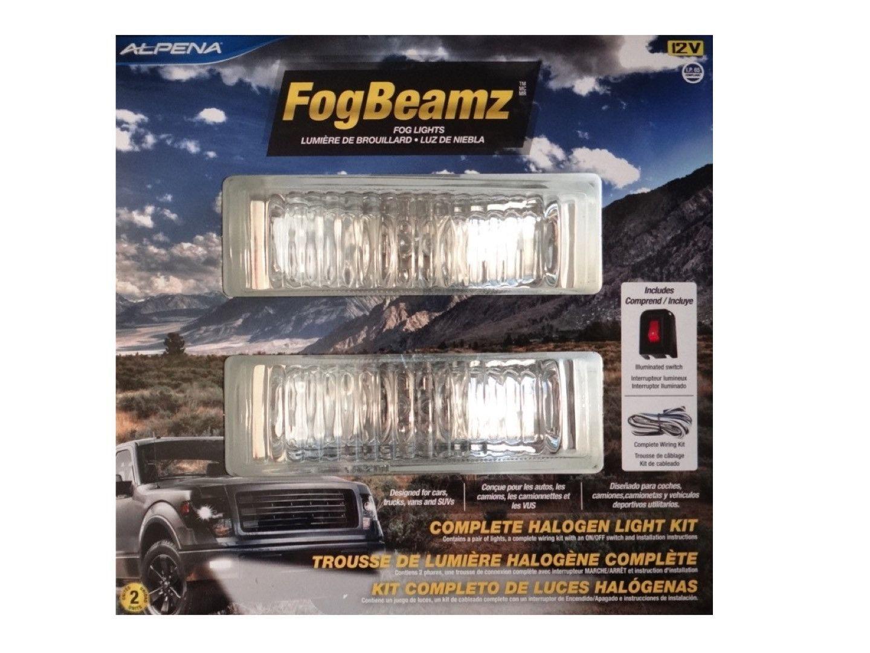 Alpena FogBeamz Halogen Fog Lights 12v / (2) 55W (71165) | Products ...