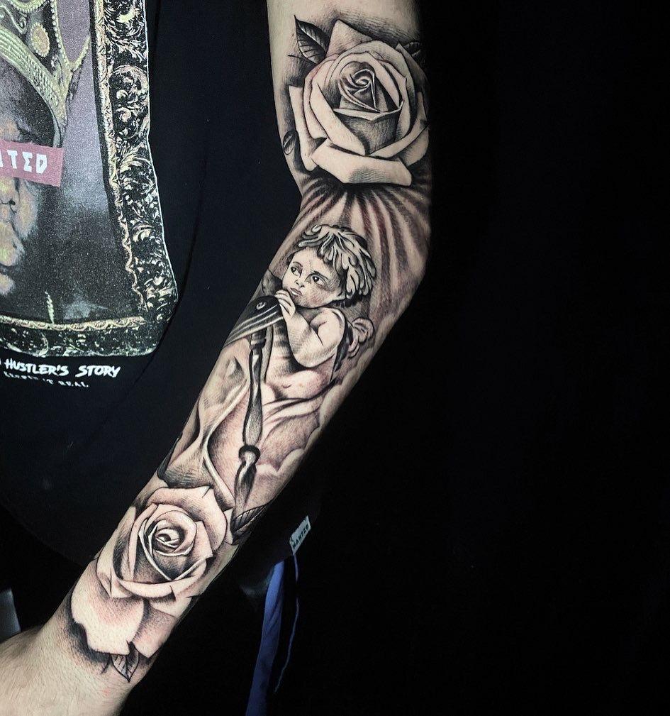 #tattootime #tattoogood #barnabe #tattoo #tatuagem #tattooreligiosa