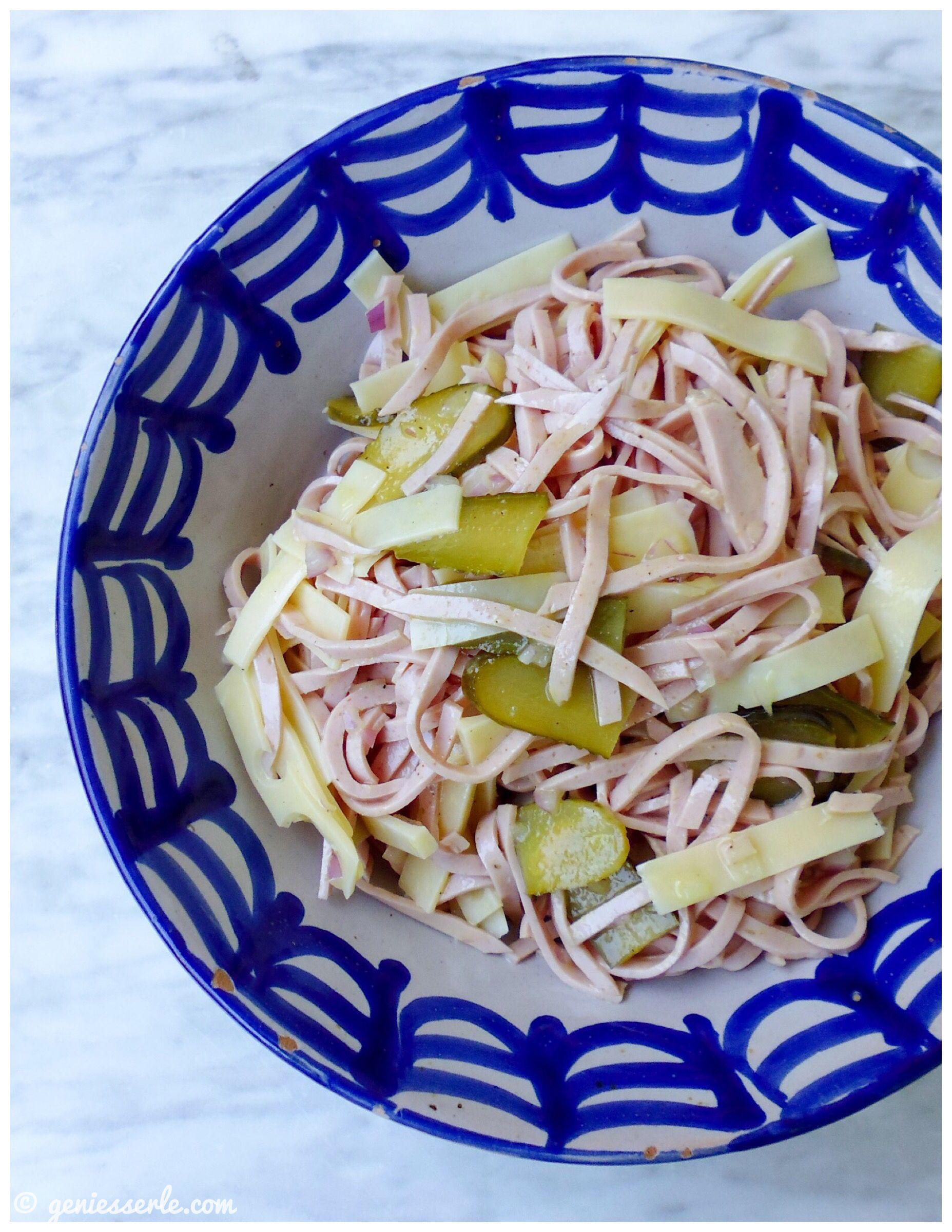 Schweizer Wurstsalat   einfach.lecker. ohne SchiSchi.