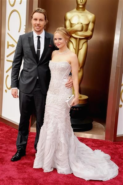Dax Shepard and Kristen Bell attend the Oscars held at Hollywood & Highland Center in Hollywood, Calif., on March 2, 2014.