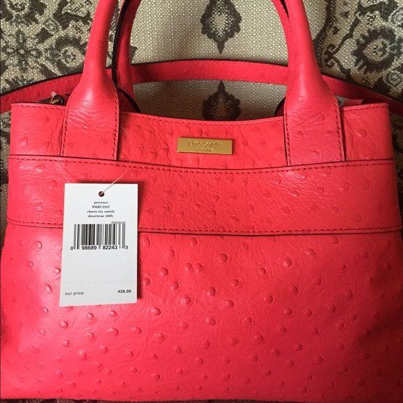 Brand New Kate Spade Regular Retail $428.00 Brand new Kate Spade Charm City Ostrich bag regular retail $428.00 Bags Crossbody Bags