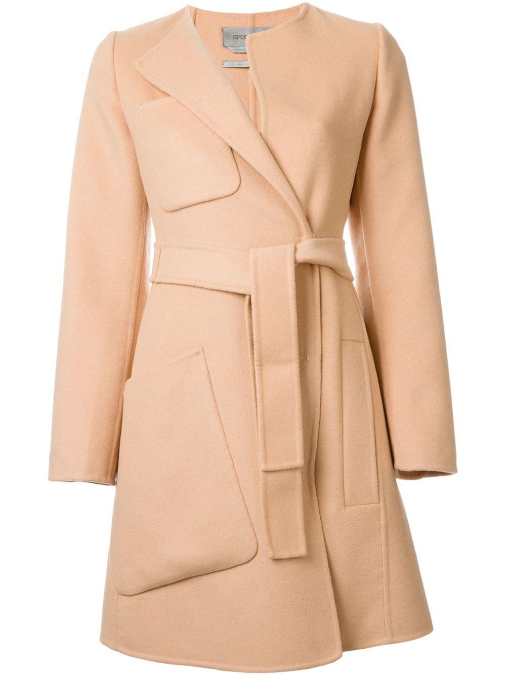 1f448d03a09c Sportmax Пальто С Поясом - Julian Fashion - Farfetch.com Max Mara, Coats For