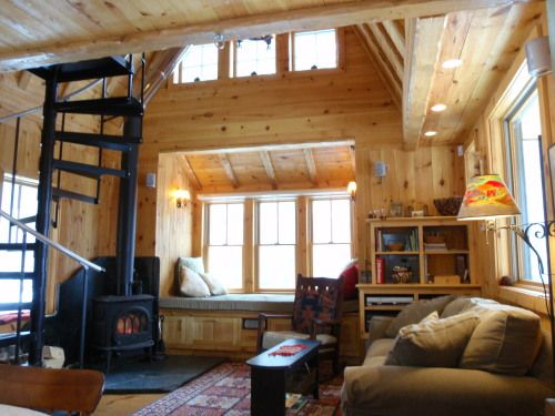 Little Vermont Cabin 850 Sq Ft In The Mountains Small Cabin House