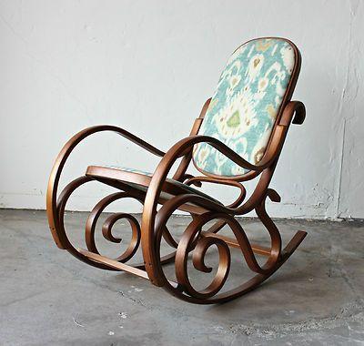 Elegant Refinished Thonet Rocker   Google Search · Rocking Chair MakeoverChair Redo Bentwood ...