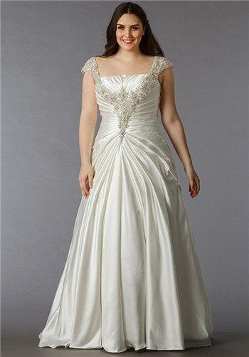 76c06d705d2c Dina Davos rocks | Bry wedding | Wedding dresses, Plus size wedding ...