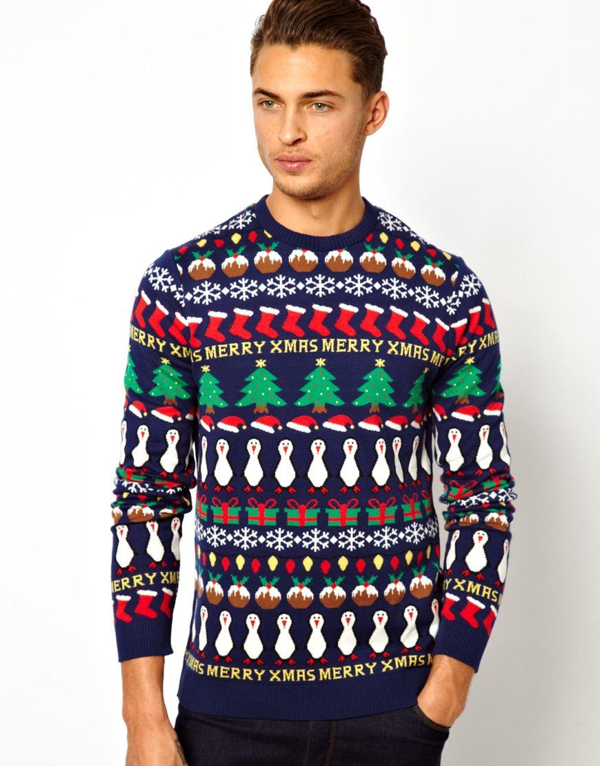 ASOS Holiday Sweater fashionista Christmas sweaters