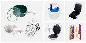 Save up to 95% on kitchen gadgets and small appliances!