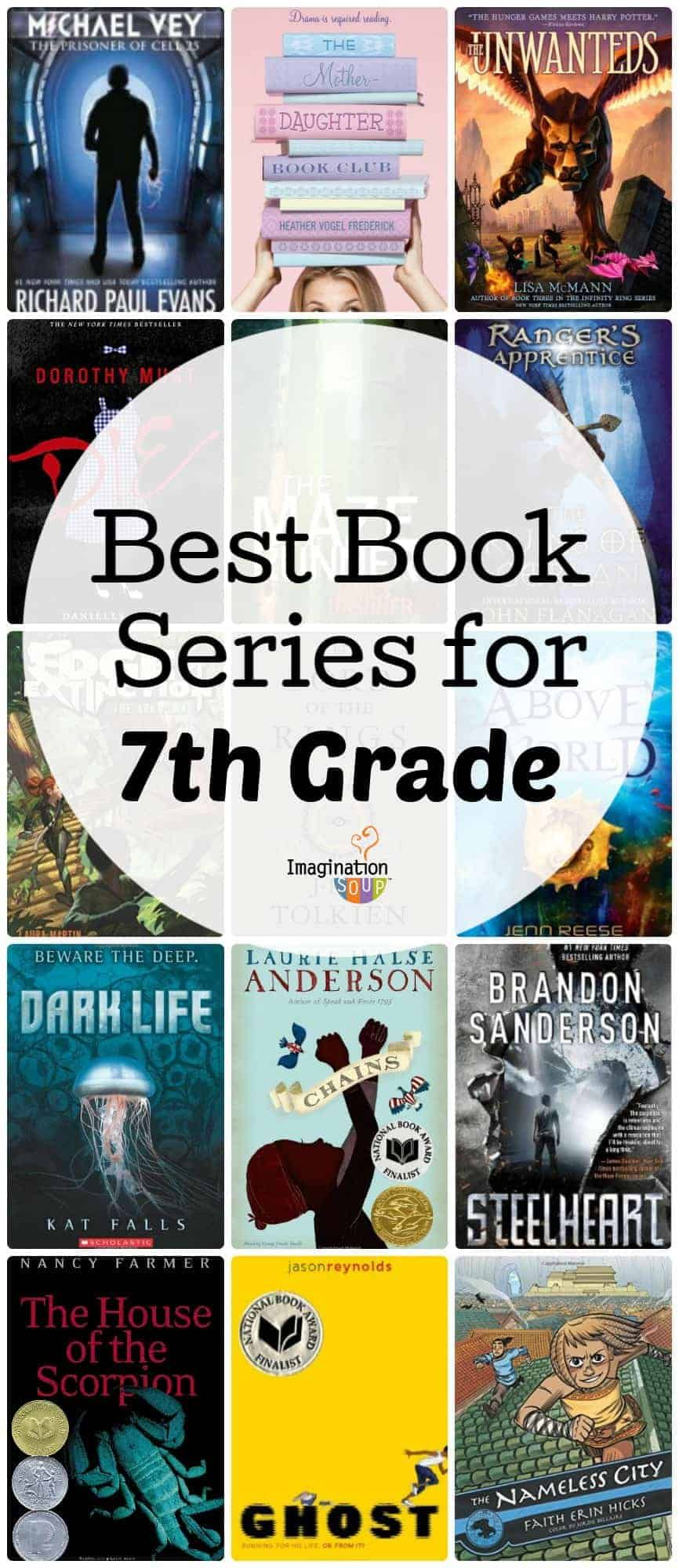 Best Book Series for 12th Graders 12 Year Olds   Imagination Soup ...