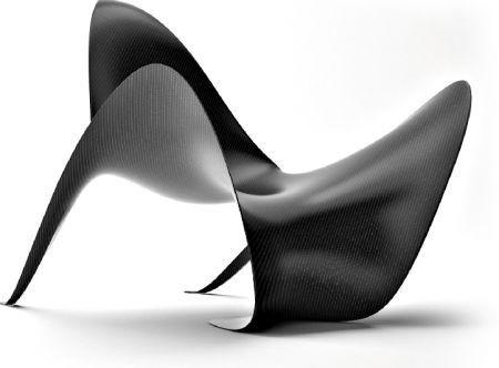 sedie e tavoli in fibra di carbonio da mast 3.0 | design mag, Möbel