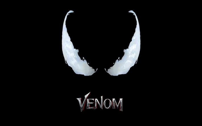 Download Wallpapers Venom 4k Poster 2018 Movie Minimal Besthqwallpapers Com Venom Movie Movie Wallpapers Venom